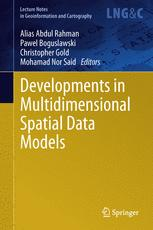 Developments in Multidimensional Spatial Data Models