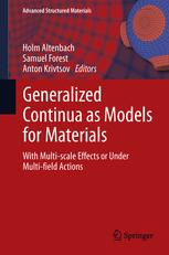 Generalized Continua as Models for Materials