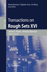 Transactions on Rough Sets XVI