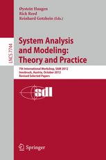 System Analysis and Modeling: Theory and Practice
