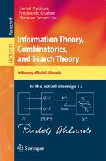 Information Theory, Combinatorics, and Search Theory
