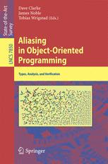 Aliasing in Object-Oriented Programming. Types, Analysis and Verification