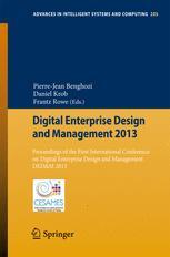 Digital Enterprise Design and Management 2013