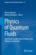 Physics of Quantum Fluids