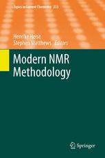 Modern NMR Methodology