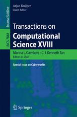 Transactions on Computational Science XVIII