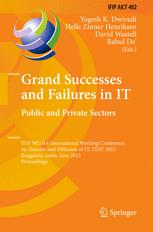 Grand Successes and Failures in IT. Public and Private Sectors