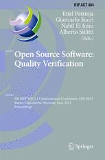 Open Source Software: Quality Verification