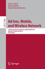 Ad-hoc, Mobile, and Wireless Network
