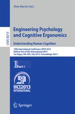 Engineering Psychology and Cognitive Ergonomics. Understanding Human Cognition