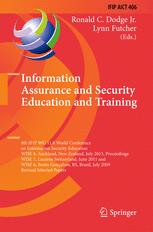 Information Assurance and Security Education and Training