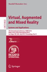 Virtual, Augmented and Mixed Reality. Systems and Applications