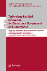 Technology-Enabled Innovation for Democracy, Government and Governance