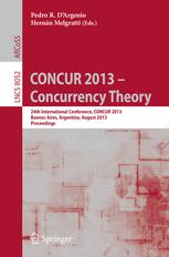 CONCUR 2013 – Concurrency Theory