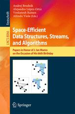 Space-Efficient Data Structures, Streams, and Algorithms
