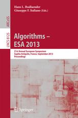 Algorithms – ESA 2013