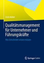 Qualitätsmanagement für Unternehmer und Führungskräfte