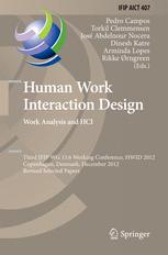 Human Work Interaction Design. Work Analysis and HCI