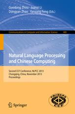 Natural Language Processing and Chinese Computing