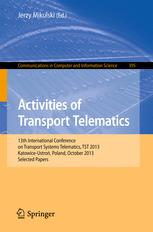 Activities of Transport Telematics