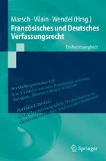 Französisches und Deutsches Verfassungsrecht