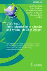VLSI-SoC: From Algorithms to Circuits and System-on-Chip Design