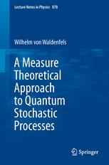 A Measure Theoretical Approach to Quantum Stochastic Processes