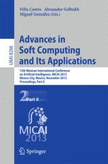 Advances in Soft Computing and Its Applications