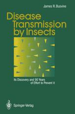 Disease Transmission by Insects