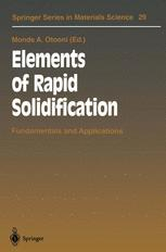 Elements of Rapid Solidification