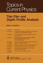 Thin Film and Depth Profile Analysis