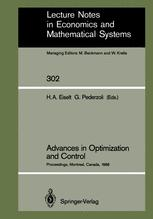 Advances in Optimization and Control
