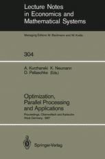 Optimization, Parallel Processing and Applications