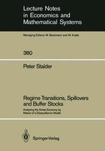 Regime Transitions, Spillovers and Buffer Stocks