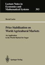 Price Stabilization on World Agricultural Markets