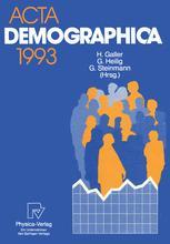 Acta Demographica 1993