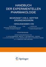 Handbuch der Experimentellen Pharmakologie — Ergänzungswerk