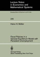 Fiscal Policies in a General Equilibrium Model with Persistent Unemployment