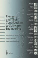 Pioneers and Their Contributions to Software Engineering