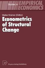 Econometrics of Structural Change