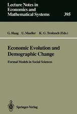 Economic Evolution and Demographic Change