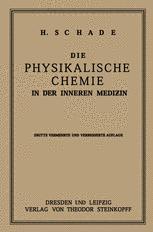 Die Physikalische Chemie in der Inneren Medizin