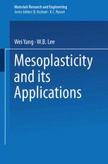 Mesoplasticity and its Applications