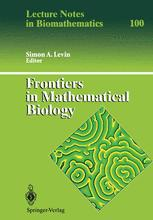 Frontiers in Mathematical Biology