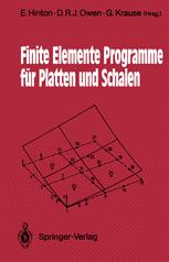 Finite Elemente Programme für Platten und Schalen