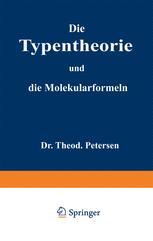 Die Typentheorie und die Molekularformeln