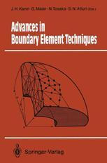 Advances in Boundary Element Techniques