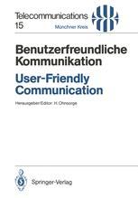 Benutzerfreundliche Kommunikation / User-Friendly Communication
