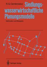 Siedlungswasserwirtschaftliche Planungsmodelle