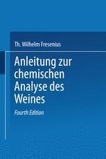 Anleitung zur chemischen Analyse des Weines